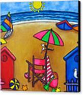 Beach Colours Canvas Print