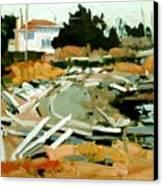 Beach Frontage Canvas Print