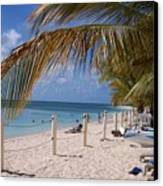 Beach Grand Turk Canvas Print