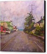 Beach Town Canvas Print