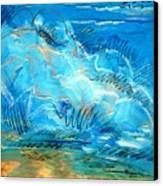 Beach Wave IIi Canvas Print