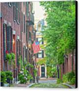 Beacon Hill Canvas Print by Susan Cole Kelly