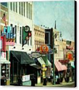 Beale Street Blues Canvas Print