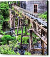 Bean's Sawmill Canvas Print by JC Findley