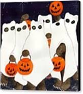 Bear's Freebie Night Canvas Print