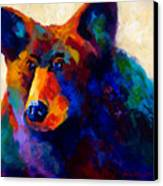 Beary Nice - Black Bear Canvas Print