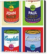 Beatles Soup Canvas Print