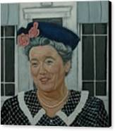 Beatrice Taylor As Aunt Bee Canvas Print by Tresa Crain