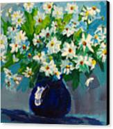 Beautiful Daisies  Canvas Print by Patricia Awapara
