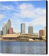Beautiful Day Tampa Bay Canvas Print