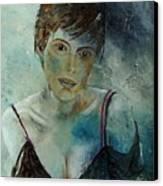 Beautiful Face Canvas Print