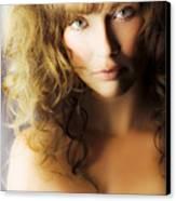 Beautiful Fashion Model Canvas Print by Jorgo Photography - Wall Art Gallery