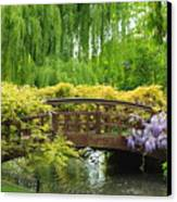 Beautiful Garden Art Canvas Print by Boon Mee