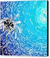 Beautiful Marine Plants 2 Canvas Print by Lanjee Chee