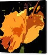 Beautiful Orange Work Number 19 Canvas Print