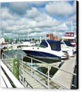 Beautiful View On The Elizabeth 7 Canvas Print by Lanjee Chee