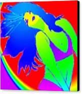 Beauty If A Rainbow Canvas Print