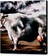 Beef Holocaust Iv Canvas Print