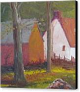 Beekeeper's Cottage Canvas Print