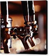 Beer Taps Canvas Print