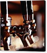 Beer Taps Canvas Print by Ryan McVay