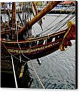 Before Setting Sail Canvas Print by Douglas Barnard