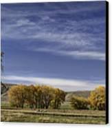 Belfry Fall Landscape 6 Canvas Print