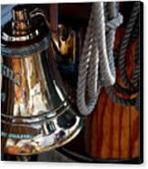 Bell On Schooner Virginia Canvas Print