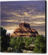 Bell Rock In Hdr Canvas Print