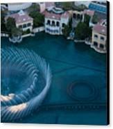Bellagio Shoreline Canvas Print