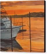Belmar Sunset Canvas Print