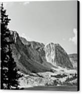 Below Medicine Bow Canvas Print