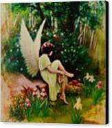Beltaine Angel Canvas Print