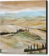 Belvedere - Tuscany Canvas Print