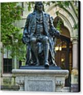 Ben Franklin At The University Of Pennsylvania Canvas Print