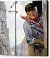 Beneker: The Engineer, 1913 Canvas Print by Granger
