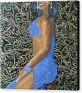Benita As A Dancing Star Canvas Print
