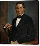 Benito Juarez (1806-1872) Canvas Print by Granger