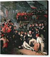 Benjamin West Canvas Print by The Death of Nelson