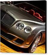 Bentley Continental Gt Canvas Print by Cosmin Nahaiciuc