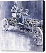 Benz 60hp Targa Florio Rennwagen 1907 Canvas Print by Yuriy  Shevchuk