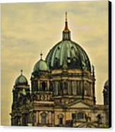 Berlin Architecture Canvas Print by Jon Berghoff