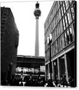 Berlin Street Photography Canvas Print by Falko Follert