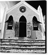 Bermuda Church Canvas Print