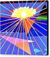 Bermuda Sunset Canvas Print