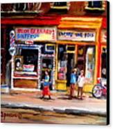 Bernard Barbershop Canvas Print