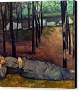 Bernard: Madeleine, 1888 Canvas Print by Granger
