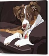 Best Boy Canvas Print by Kris Hackleman