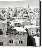 Bethlehem Old Town Canvas Print by Munir Alawi