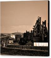 Bethlehem Steel Canvas Print by Bill Cannon